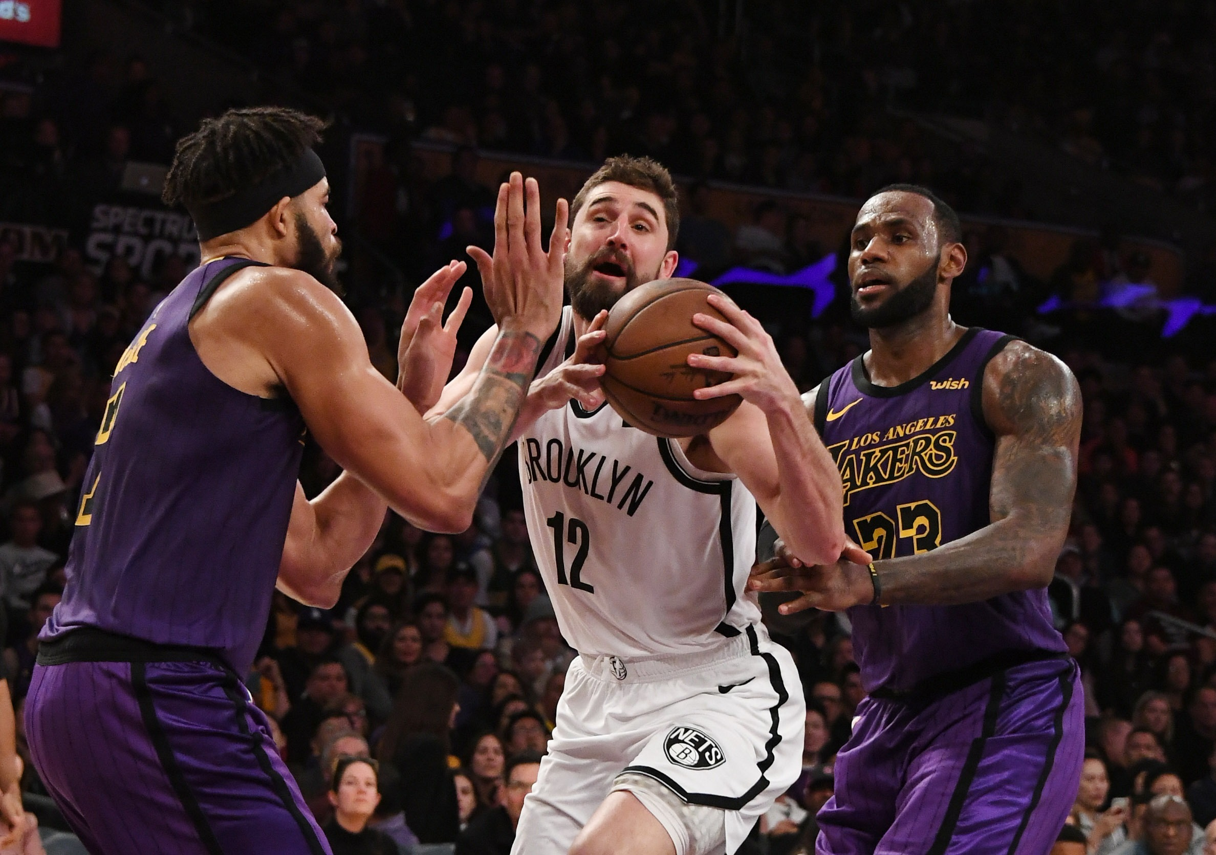 NBA: Brooklyn Nets at Los Angeles Lakers