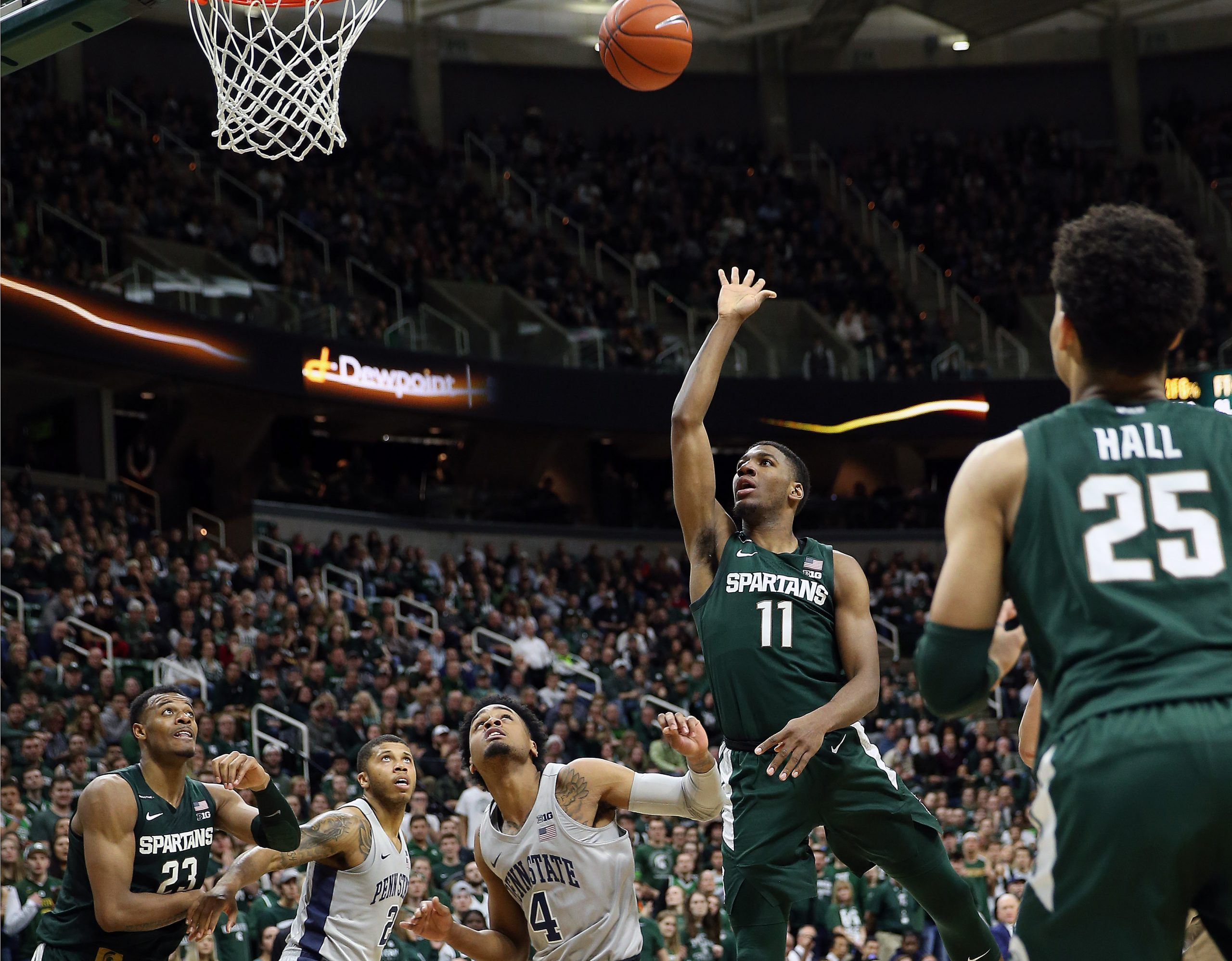 NCAA Basketball: Penn State at Michigan State