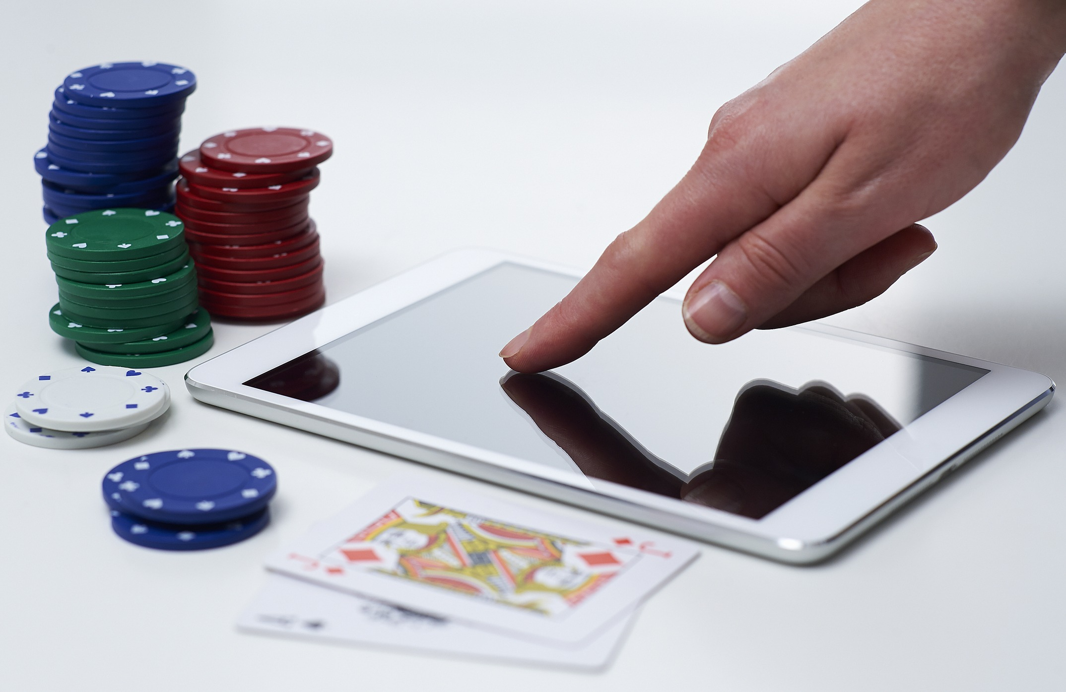 Casino tablet computer