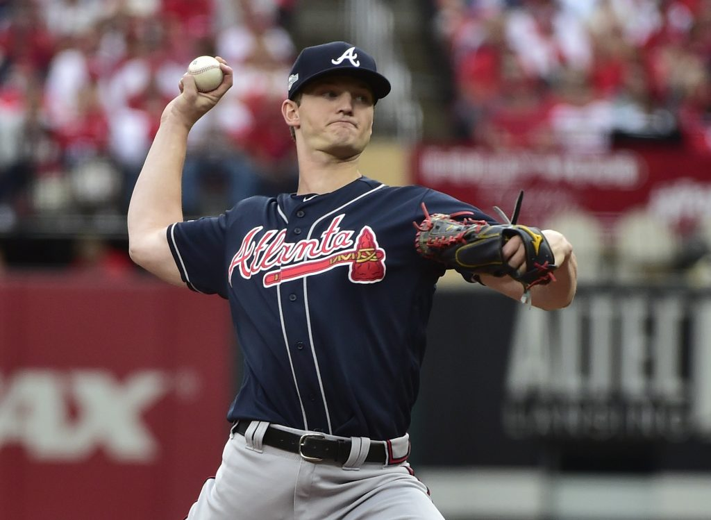 MLB: NLDS-Atlanta Braves at St. Louis Cardinals