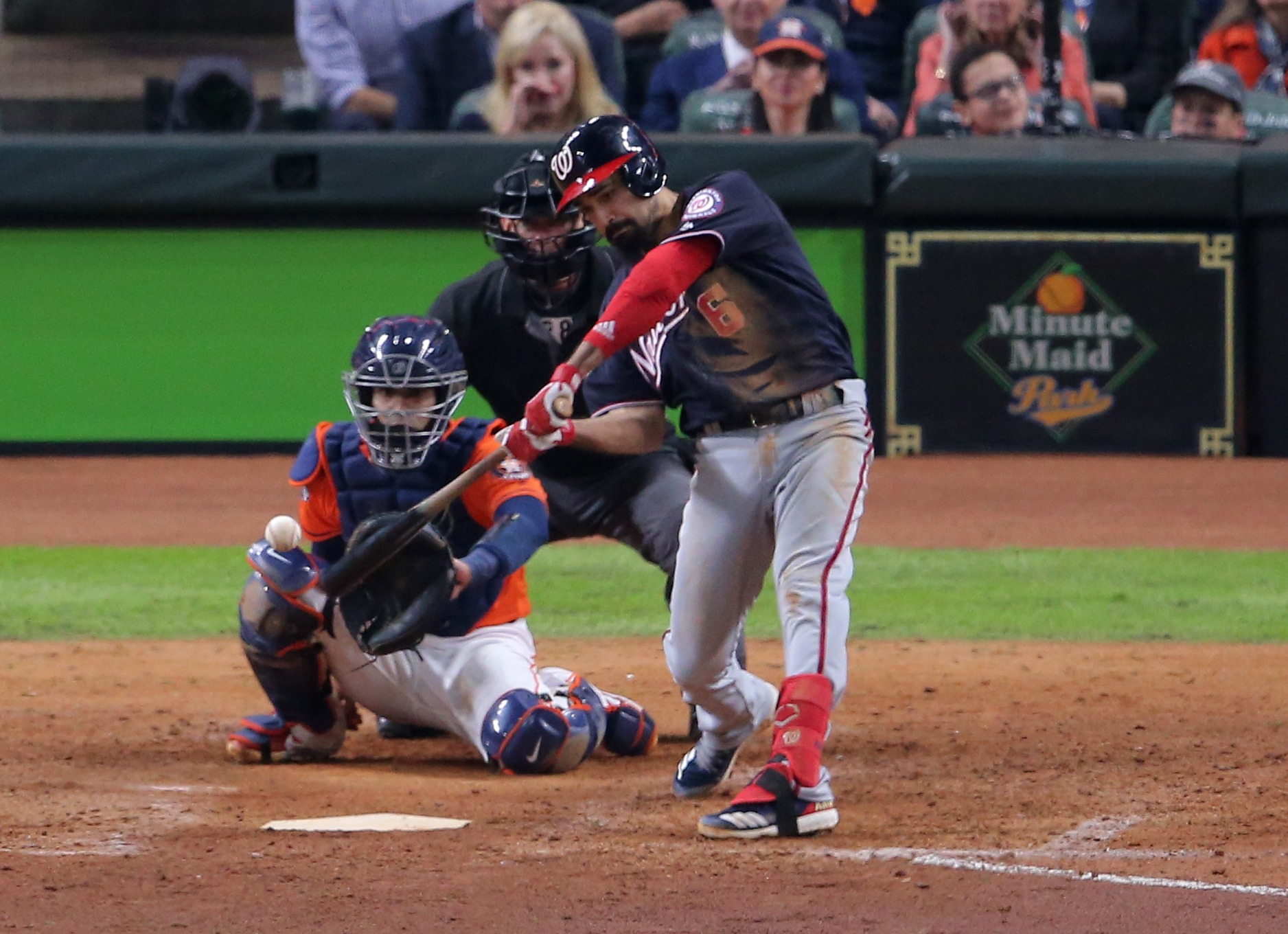 MLB: World Series-Washington Nationals at Houston Astros