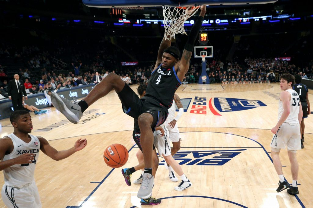 NCAA Basketball: Big East Tournament-Xavier vs DePaul
