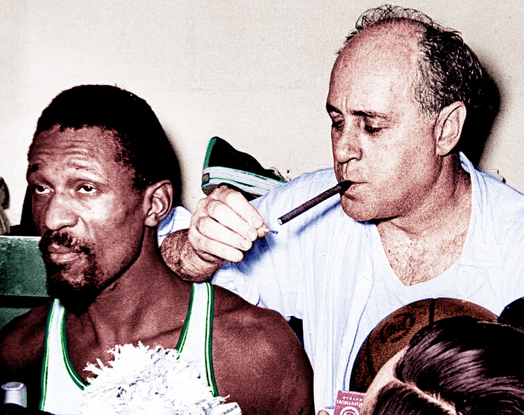 Bill_Russell_and_Red_Auerbach_1966_Champions